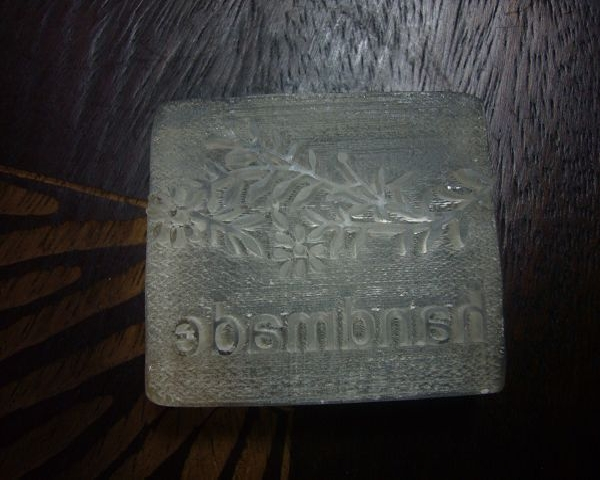 品 名 100-53透明壓克力皂章 流枝*1....代購