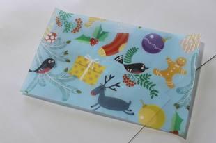 包裝油紙-4 聖誕麋鹿(5張)*1