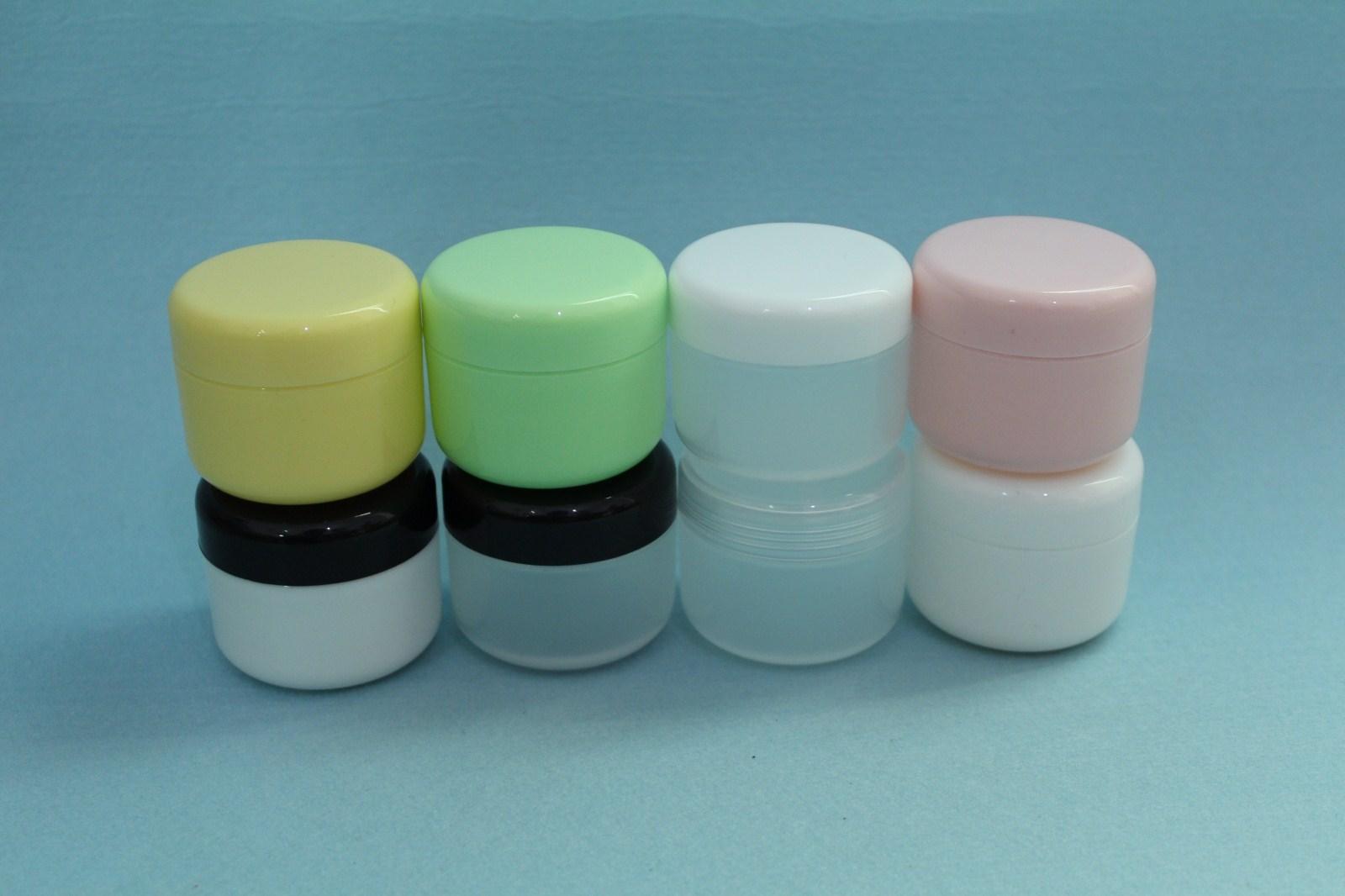 50g多色膏霜盒-3   粉黃色50個*1
