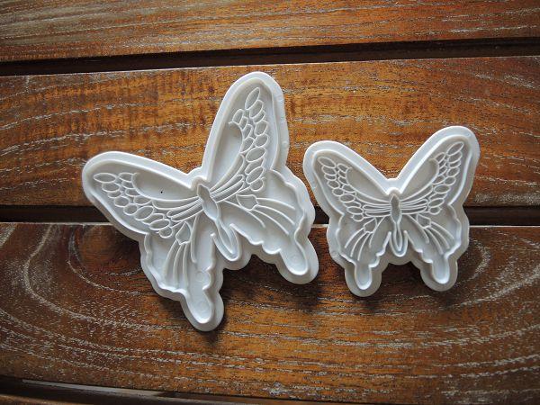 昆蟲切壓模-1  蝴蝶壓模(2入)*1...無庫存 可預購