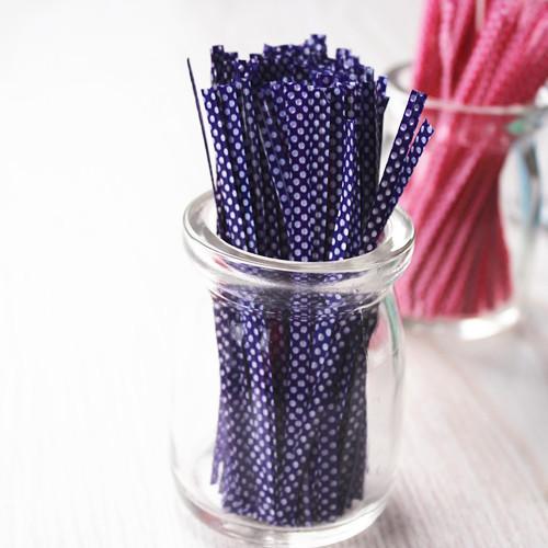 封口鐵線-4 紫底白底10克*1
