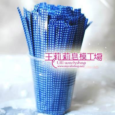 封口鐵線-11 藍格子10克*1