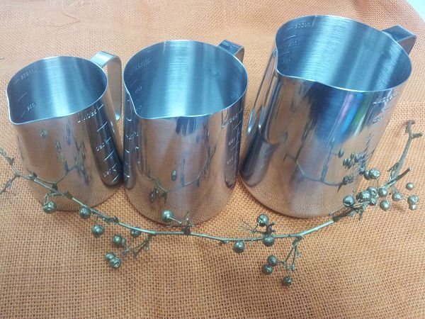 不鏽鋼拉花杯-2 (550-600ml)*1