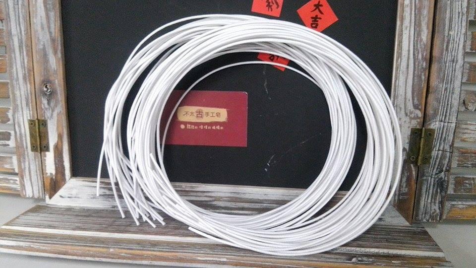 機器過蠟蠟燭棉芯-4 77股蠟燭棉芯(1公尺)*1