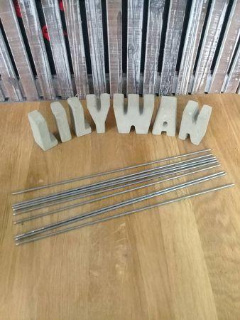 鋼線-1 燭心用鋼線(長度約26cm)*1支