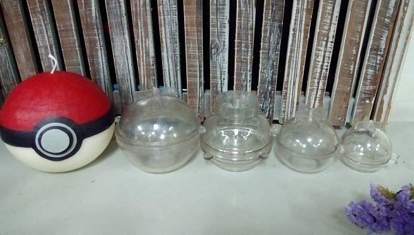 手作蠟燭模具-3 星球蠟燭球型蠟燭模具(6*6cm)*1