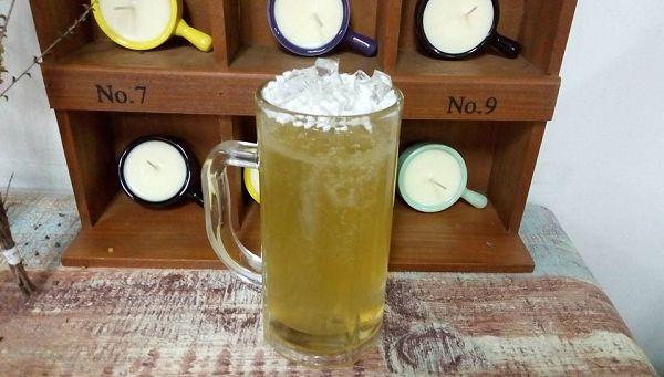 果凍蠟-2  沁涼啤酒蠟蠋*1