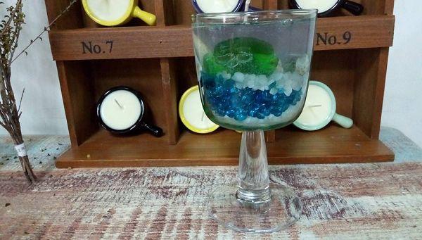 果凍蠟-3 夏日海洋蠟蠋*1