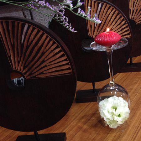 手作蠟燭浮水蠟燭模-3 手作蠟燭浮水蠟燭模(8*4cm)大*1