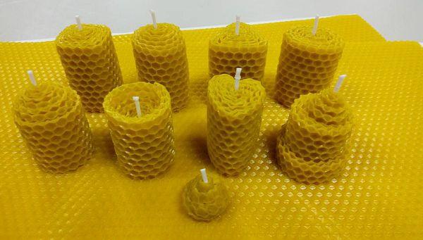 蜂蠟捲體驗課程*1 5款基本型*1