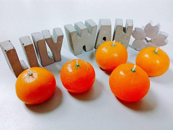 大吉大利橘子蠟燭課程-下班玩蠟燭