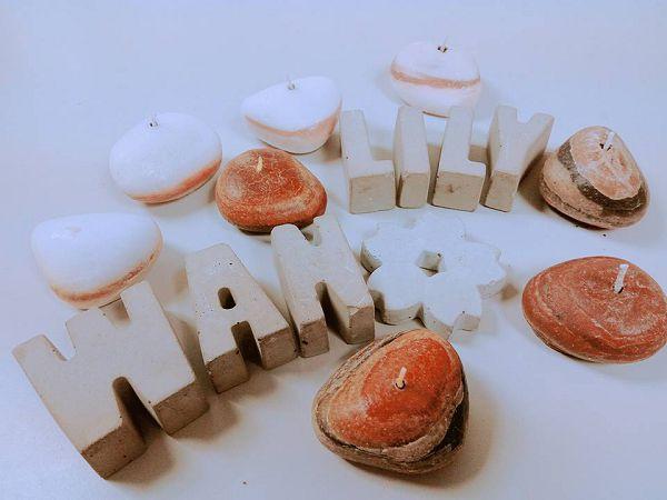 進階蠟燭班-2  石頭蠟燭*1