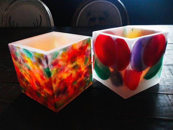 蠟燭燈罩-2 手工蠟燭燈罩蠟盒登籠*1