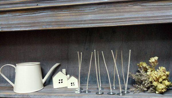 進口蠟燭棉芯-5   含底座蠟燭棉芯7cm(10支)*1