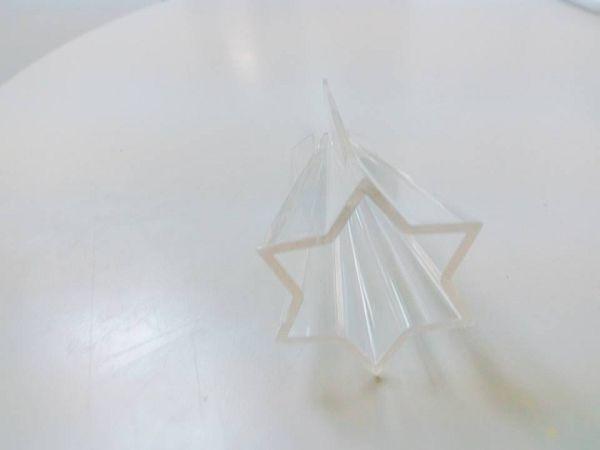錐型蠟燭模具-9 六角尖錐模具*1(5.8*12cm)