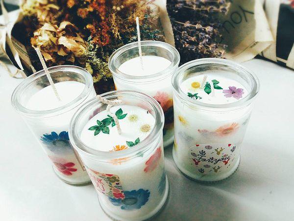 大豆蠟杯蠟-1 環保香氛大豆蠟燭A*1
