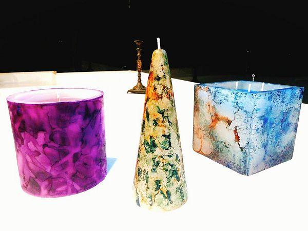 暈彩蠟燭-1  暈彩蠟燭*1